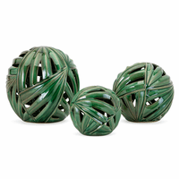 Tropical Deco Balls - Set of 3