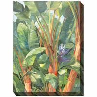 Tropical Flora I Outdoor Canvas Art