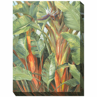 Tropical Flora II Outdoor Canvas Art