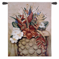 Tropical Flora Wall Tapestry