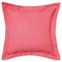 Tropical Foliage Flange Pillow
