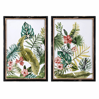 Tropical Foliage Framed Prints - Set of 2