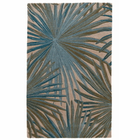 Tropical Leaves Rug Collection