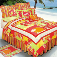 Tropical Paradise Quilt Bedding Collection