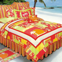 Tropical Paradise Quilt - Full/Queen