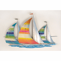 Tropical Regatta Wall Art