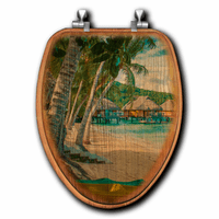 Tropical Retreat Toilet Seats