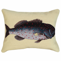 Tropical Rock Fish Pillow