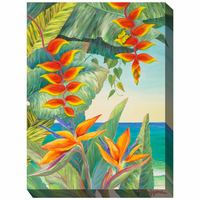 Tropical Seascape I Outdoor Canvas Art