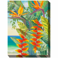 Tropical Seascape II Outdoor Canvas Art