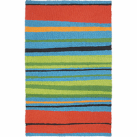Tropical Stripe Indoor/Outdoor Rug Collection