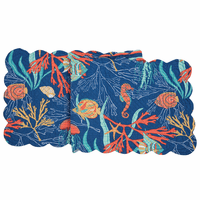 Tropical Water Table Runner