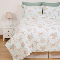 Turks & Caicos Quilt Set - King