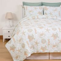 Turks & Caicos Quilt Set - Twin - CLEARANCE