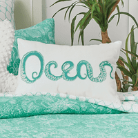 Turquoise Tentacles Pillow