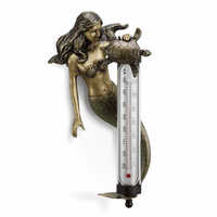 Turtle and Mermaid Wall Thermometer