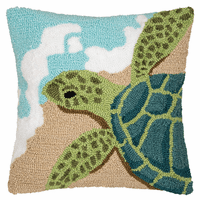 Turtle Beach Hooked Pillow