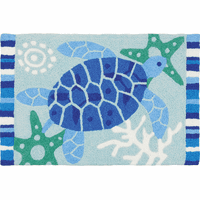 Turtle Blues Indoor/Outdoor Rug