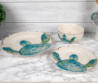 Turtle Dive Ceramic Dinnerware