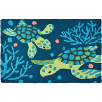 Turtle Friends Indoor/Outdoor Rug