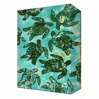 Turtle Hatch Aluminum Box Wall Art