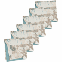 Turtle Shells Napkins - Set of 6