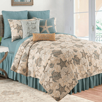 Turtle Shells Quilt Bedding Collection
