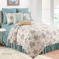 Turtle Shells Quilt Set - King