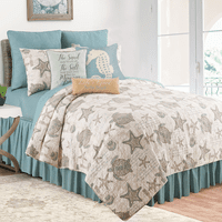 Turtle Shells Quilt Set - Twin - OUT OF STOCK
