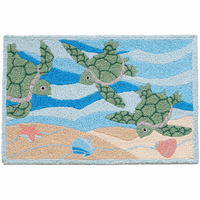 Turtle Trio Indoor/Outdoor Rug