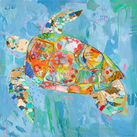 Turtsee Canvas Wall Art - 30 x 30