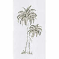 Two Palms Flour Sack Towels - Set of 6