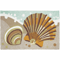 Two Shells Indoor/Outdoor Rug