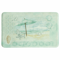 Umbrella Beach Memory Foam Mat Collection