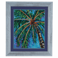 Under the Palm II Framed Print