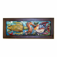 Undersea Portraits Metal Wall Art