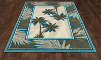 Vaca Key Palms Rug Collection