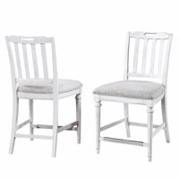 Vermont Armless Counter Stools  - Set of 2