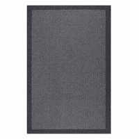 Versatile Modern Black Indoor/Outdoor Rug Collection