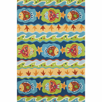 Vibrant Fish Indoor/Outdoor Rug Collection