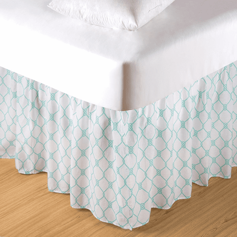 Victoria Bay Coastal Bedskirt - Twin