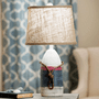 Vintage Buoy Table Lamp