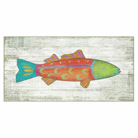 Vivid Fish Wall Art