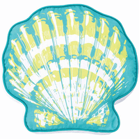 Vivid Shells Shaped Pillow