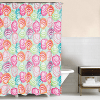 Vivid Shells Shower Curtain