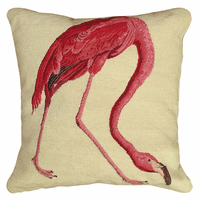 Walking Flamingo Pillow