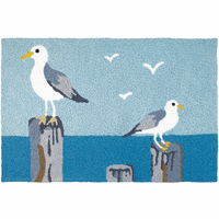 Watchful Gulls Indoor/Outdoor Rug