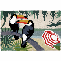 Watchful Toucans Indoor/Outdoor Rug