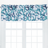 Watercolor Reef Coral Valance
