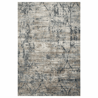 Waterfall Taupe & Blue Rug Collection